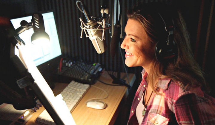 Foreign voiceover, beware!